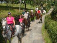 Horse riding excursion around Gijon