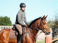 Horseman in the horse riding of Deva