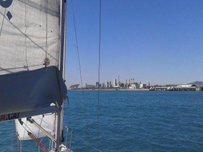 Despedida de soltero en velero Port Olímpic 2 h