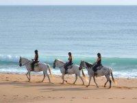 Ruta a caballo en la costa de Cadiz