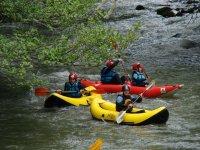 Canoa raft para grupos