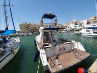 Barco listo para zarpar desde Almería