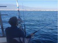 Pesca a bordo de un barco por el Mediterráneo