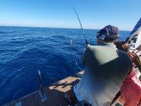Pescando en familia cerca de la Costa Almeriense