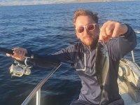 Tarde de pesca en el Mediterráneo