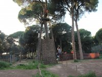 Climbing tower in the Juliana