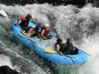 Aguas bravas en rafting