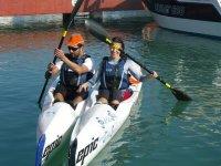 despedida en kayak