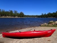 Kayak en la orilla