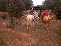 Rutas a caballo para despedidas