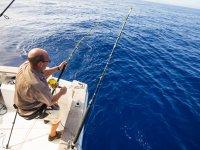 Jornada de pesca en la costa alicantina