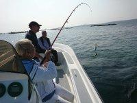 Pesca para todas las edades en Ría de Arousa