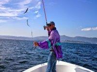 la primera experiencia pesquera