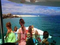 Boat trip from Puerto de O Xufre