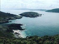 Islas Sisargas en la costa gallega