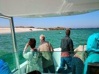 Boat trip Islote Areoso