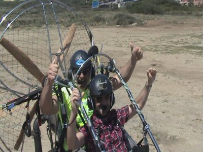 Paragliding course + flight piloting a paratrike