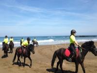 Sulla spiaggia di Zumaia