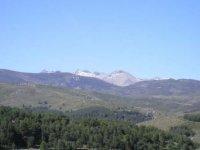 Paisaje típico de la Sierra de Gredos.
