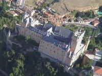 从高处鸟瞰塞戈维亚风景
