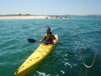 Practice Kayak in Tui