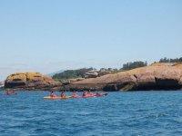 Kayak in Pontevedra