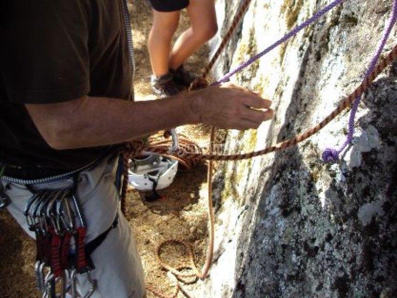 Climbing initiation