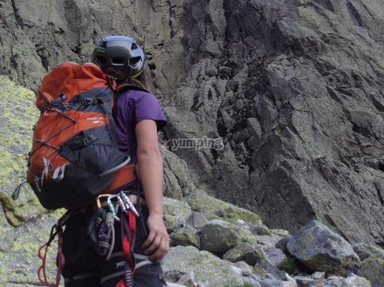 Climbing activity in Madrid