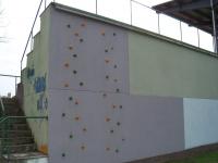 Nuevo muro de escalada