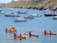 Kayak en el puerto