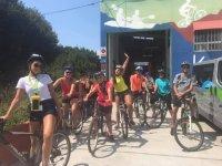 从市中心开始骑自行车