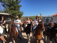 Ruta a caballo por Navalcarnero