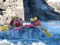 Rafting in acque di medio livello