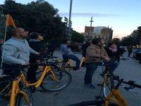 Viendo la ciudad desde las bicis