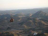 Alfabia滑翔伞学校串联despengando