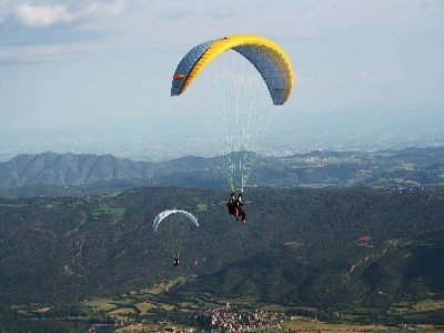 Paddle in Spain Parapente