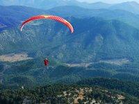 Volando por las montañas