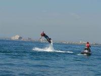 jetpack on the Costa Brava