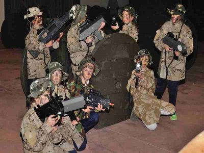 Universal Laser Tag