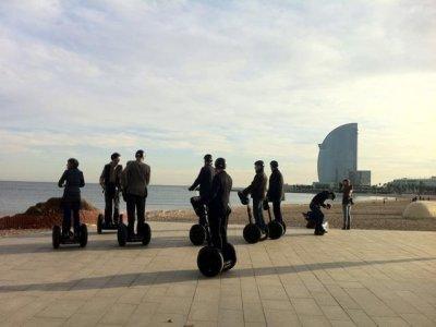 Barcelona Segway Tour Team Building