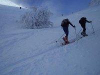 夜间登上Tossa de Alp