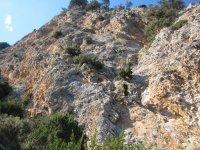 陡峭的山峰