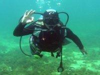 Todo ok bajo el agua
