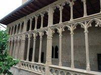 Galeria del Rey nel Palacio de Olite