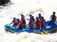 Regalar descenso en rafting