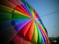 在赫罗纳(Girona)乘气球