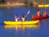 Compétitions avec Kayak