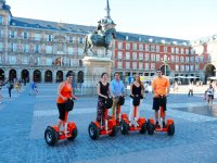 Segways en la Plaza Mayor