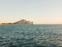 Peniscola desde el puerto pesquero