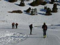 Esquiando en circuito